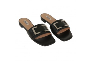 Pantofolina pelle