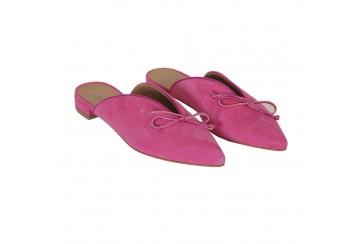 Pantofolina camoscio